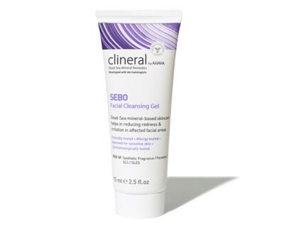 Clineral by Ahava - SEBO Facial Cleansing Gel - 75ml