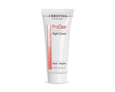 Christina Clinical - ProClear - Night Cream - 50ml