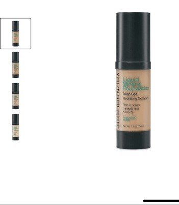 Liquid Mineral Foundation GOLDEN TAN