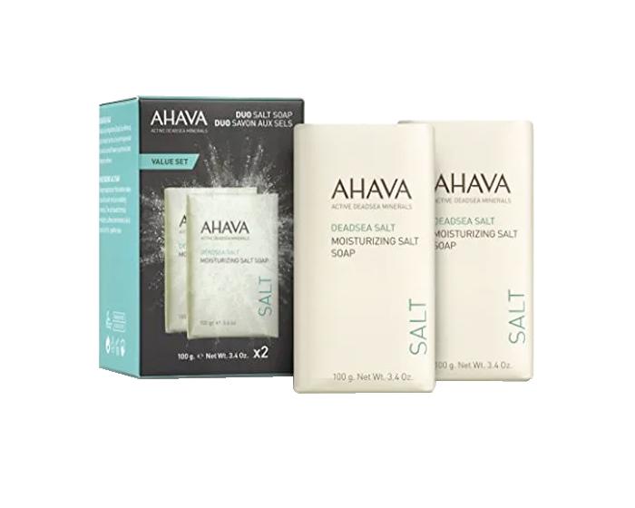 Ahava - Deadsea Salt Soap Duo
