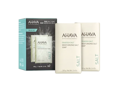 Ahava - Deadsea Salt Soap Duo
