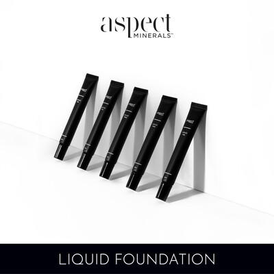 Aspect Mineral Liquid Foundation Shade Four