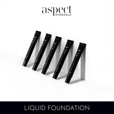 Aspect Mineral Liquid Foundation Shade Five