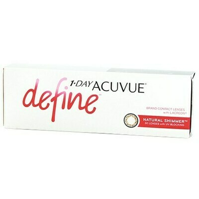 1-DAY ACUVUE DEFINE 30 Pack (30 Lenses/Box)