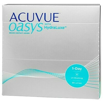 ACUVUE OASYS 1-Day with HydraLuxe 90 pack (90 Lenses/Box)