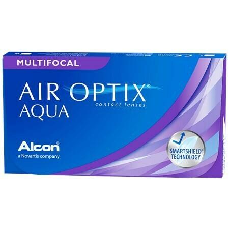 AIR OPTIX AQUA Multifocal (6 Lenses/Box)
