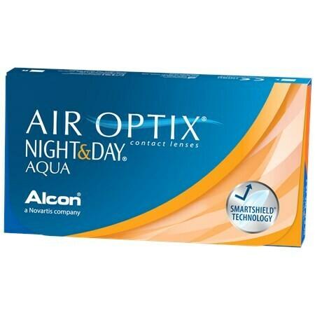 AIR OPTIX NIGHT & DAY AQUA (6 Lenses/Box)