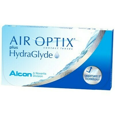 AIR OPTIX plus HydraGlyde (6 Lenses/Box)