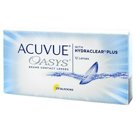 ACUVUE OASYS 2-Week 12 Pack (12 Lenses/Box)