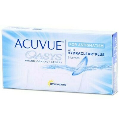 ACUVUE OASYS for ASTIGMATISM (6 Lenses/Box)