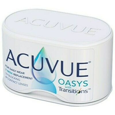 ACUVUE OASYS with Transitions (6 Lenses/Box)