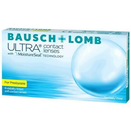 Bausch + Lomb ULTRA for Presbyopia (6 Lenses/Box)