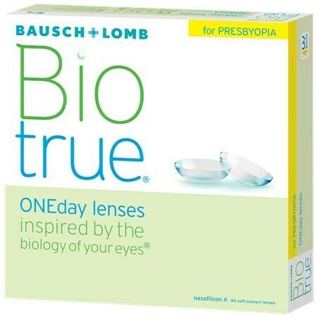 Biotrue ONEday for Presbyopia (90 pack) (90 Lenses/Box)