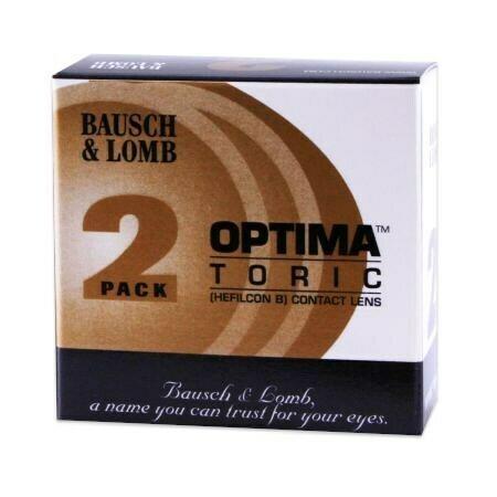 Optima Toric 2 Pack (2 Lenses/Box)