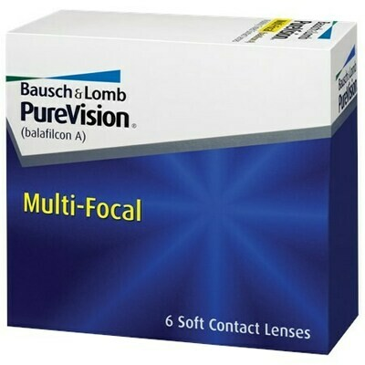 PureVision Multi-Focal (6 Lenses/Box)