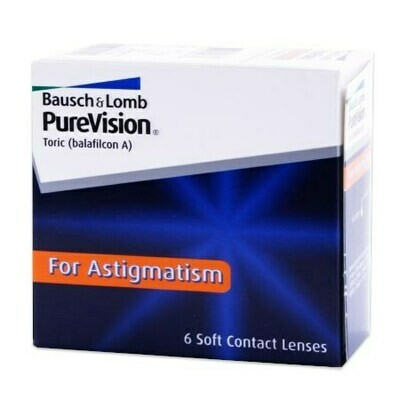 PureVision Toric For Astigmatism (6 Lenses/Box)