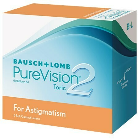 PureVision2 Toric For Astigmatism (6 Lenses/Box)
