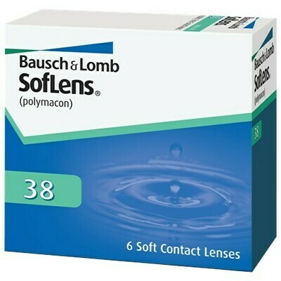 SofLens 38 (6 Lenses/Box)