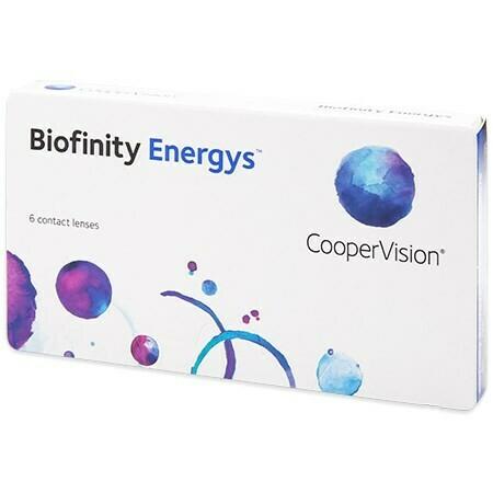 Biofinity Energys (6 Lenses/Box)