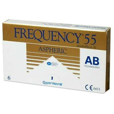 Frequency 55 Aspheric (6 Lenses/Box)