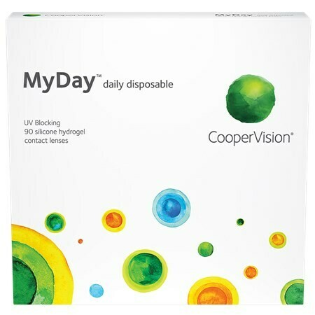 MyDay daily disposable 90 pack (90 Lenses/Box)