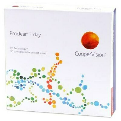 Proclear 1 day 90 pack (90 Lenses/Box)