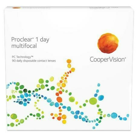Proclear 1 day multifocal 90 pack (90 Lenses/Box)