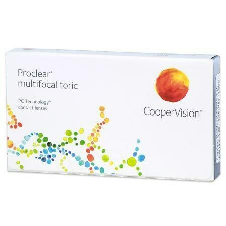 Proclear Multifocal Toric (6 Lenses/Box)