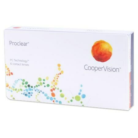 Proclear sphere (6 Lenses/Box)