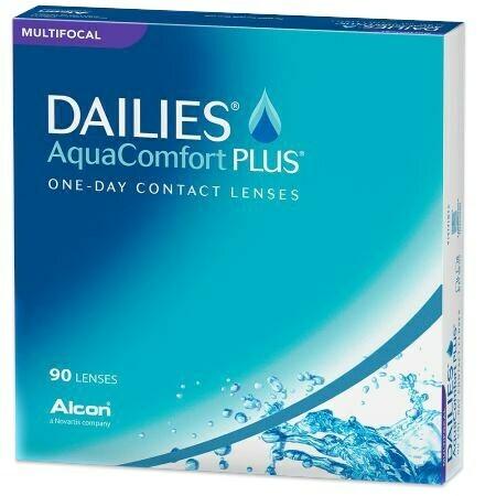 DAILIES AquaComfort Plus Multifocal 90 Pack (90 Lenses/Box)