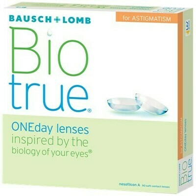 Biotrue ONEday for Astigmatism (90 pack) (90 Lenses/Box)