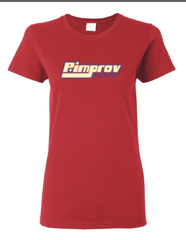 Pimprov Women's Babydoll. Cherry
