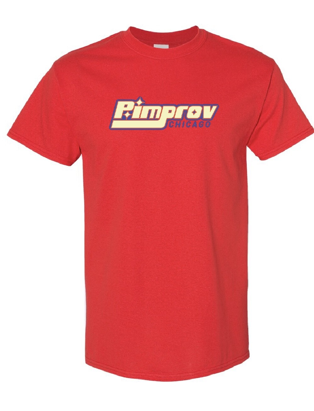 Pimprov Men's T-shirt. Red