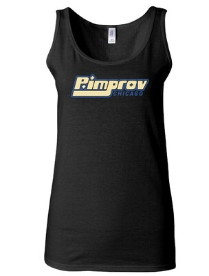 Pimprov Women's Tank. Black