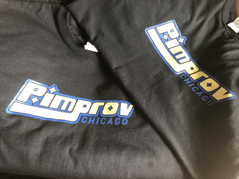 Pimprov Men's T-shirt . Black