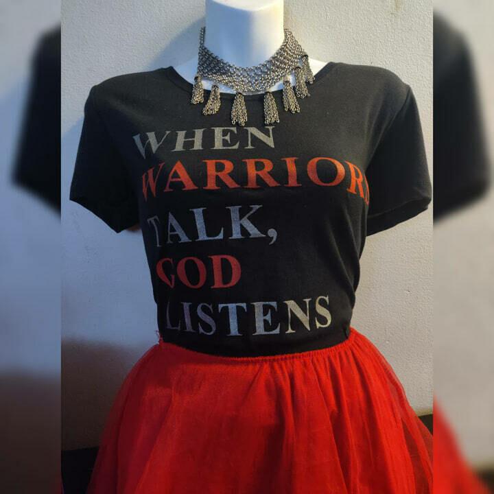 When Warriors Talk, God Listens TEE