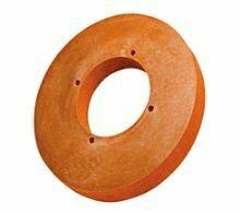 Part# 39579801  Orange Polish Wheel for VE2Plus2 & VE4