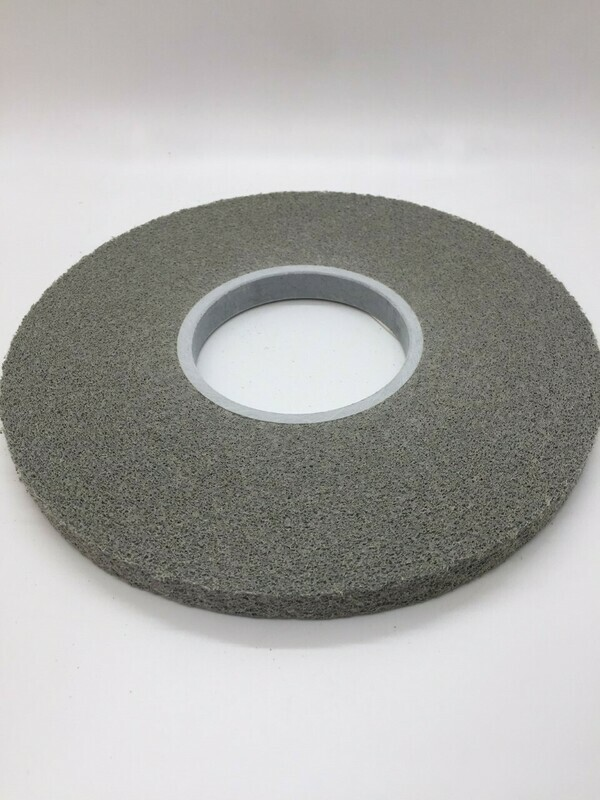 Part# 16206500 Gray Edge Deletion Wheel is used on EDT60X86 Edge Deletion Table