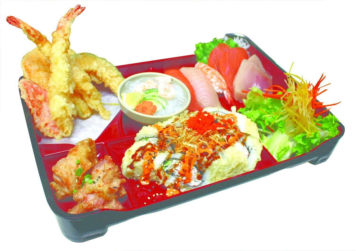 Sashimi & Sushi Box (Crazy Boy Roll)