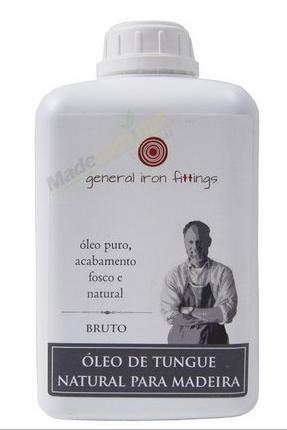 General Iron Fittings - Óleo de Tungue Bruto 1 Litro