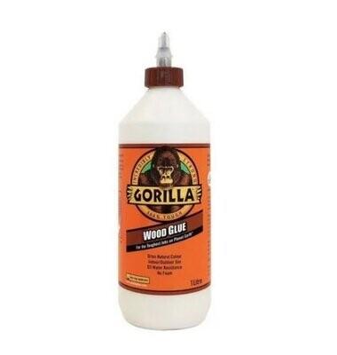Cola Gorilla Wood Glue frasco 1 litro
