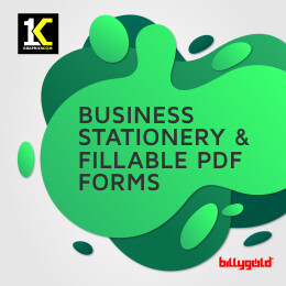 Business Stationery/Fillable PDF Form Designs