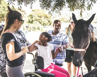 One month of therapy sessions for a child with profound disability