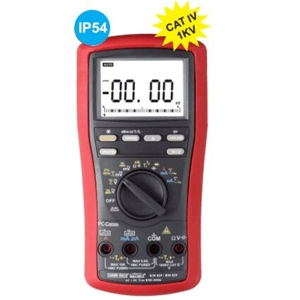 Kusam Meco KM829 AC + DC TRMS Digital Multimeter