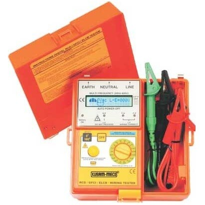 Kusam Meco KM1812EL - Digital ELCB Tester