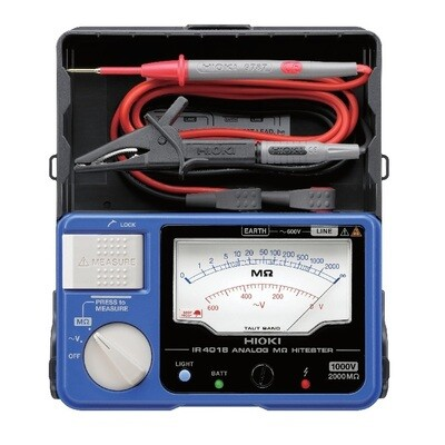Hioki IR4018-20 Insulation Resistance Tester 1000V/0-2000MOhms