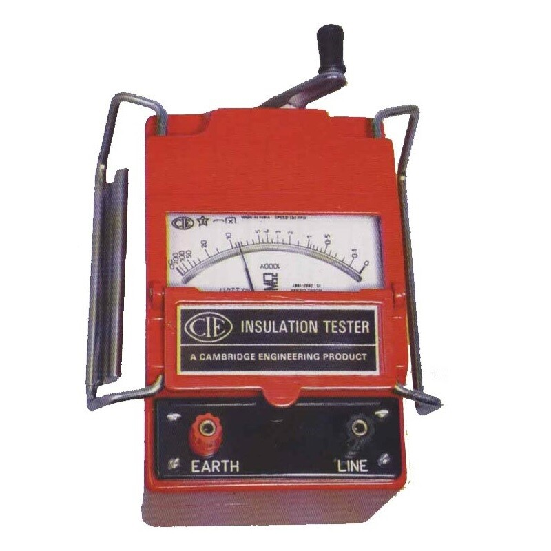CIE 5000 Volts Analog Insulation Tester, 5KV