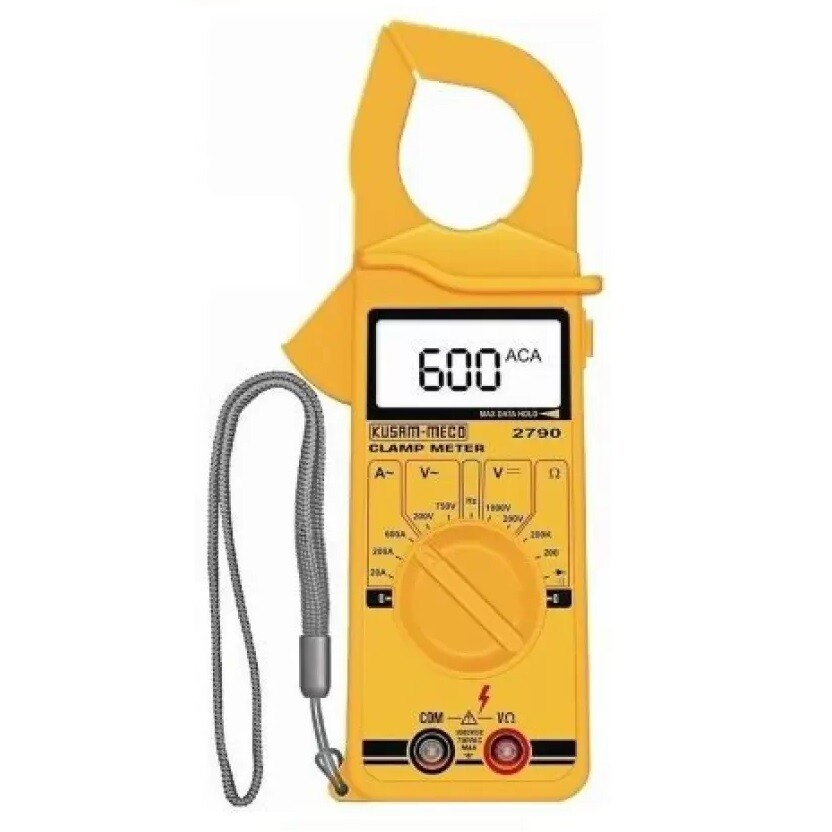 Kusam Meco KM 2790 Digital Clamp Meter 600A