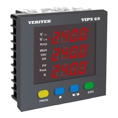 Veritek VIPS-69 Multifunction Meter