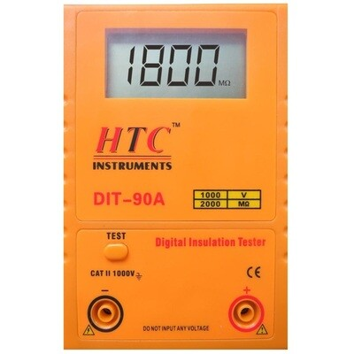 HTC DIT-90A Digital Insulation Tester 1000V - 2000MOhms